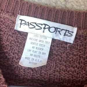 Passport Sweaters - Sweater